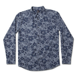 Flower Blue Shirts
